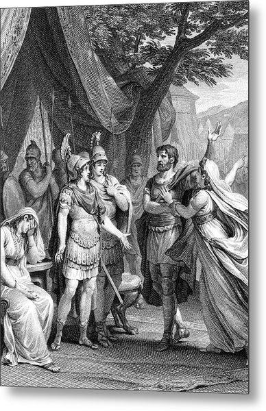 'alexandre Le Grand' (racine's Second Metal Print