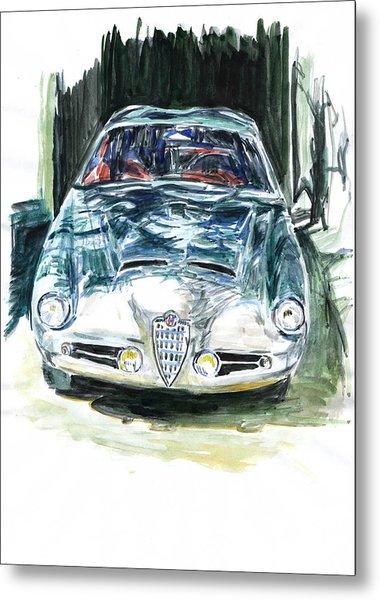 Alfa Romeo Metal Print by Ildus Galimzyanov