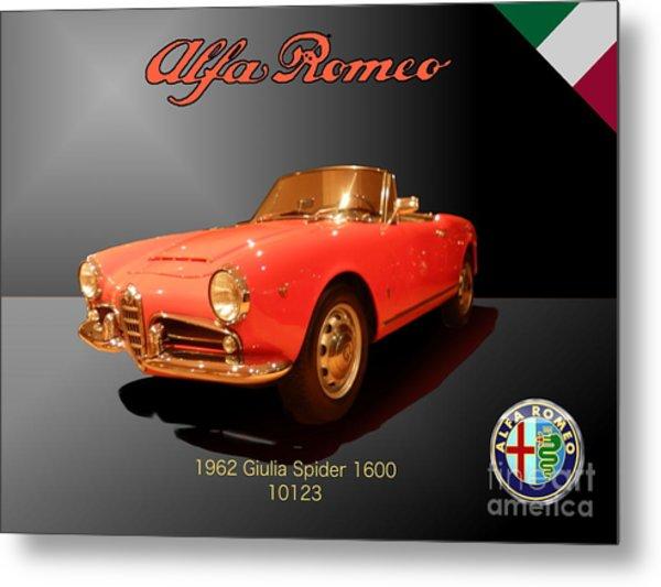 Alfa Romeo Metal Print