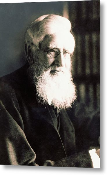 Alfred Russel Wallace Metal Print by American Philosophical Society