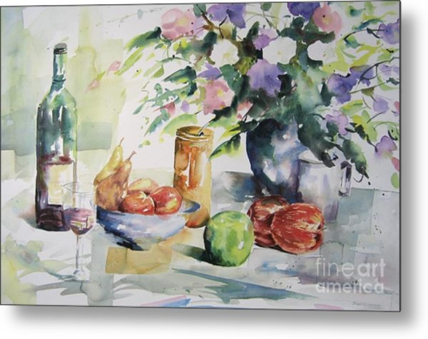 Alfresco Metal Print