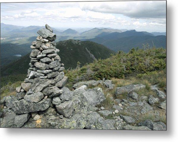 Algonquin Mountain Cairn Metal Print