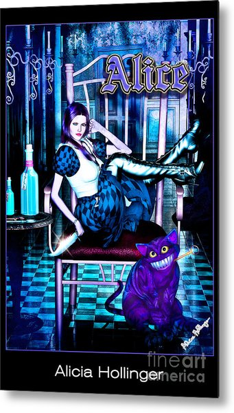 Alice Metal Print by Alicia Hollinger