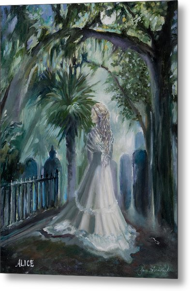 Alice Flagg - The Ghost Of Murrells Inlet Metal Print