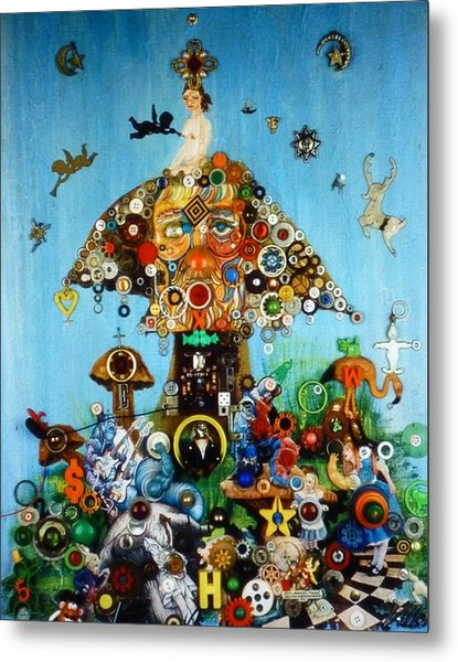 Alice In Blunderland Metal Print