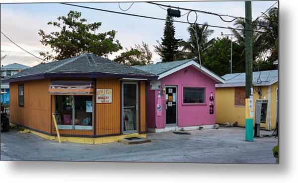 Alice Town Shops Metal Print