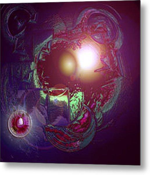 Alien Fetus Metal Print