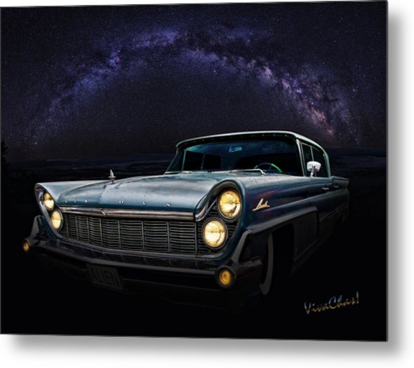 Alien Lincoln Roswell Saturday Night Metal Print