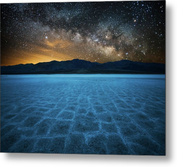 Alien World Metal Print