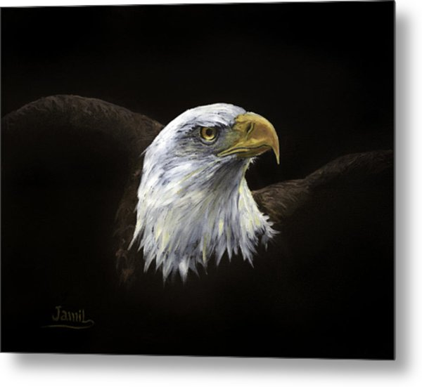 All American Metal Print by Jamil Alkhoury