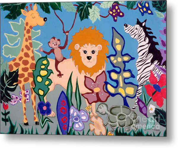 All Creatures Great And Small Metal Print