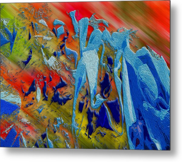 Metal Print featuring the photograph All Dat Jazz by Paul Wear
