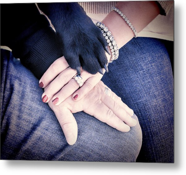 All Hands Metal Print