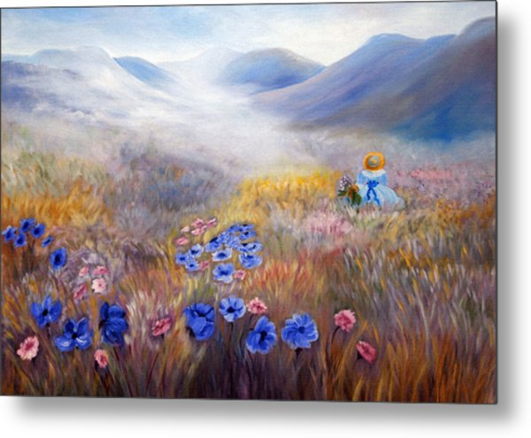 All In A Dream - Impressionism Metal Print