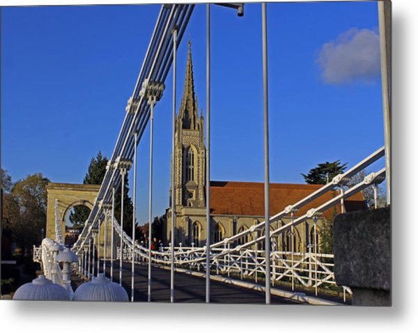 All Saints Church Metal Print
