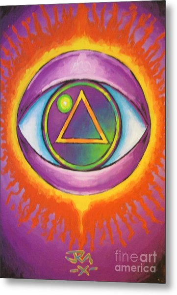 All Seeing Eye Metal Print by Jedidiah Morley