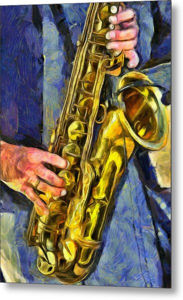 All That Jazz  Metal Print