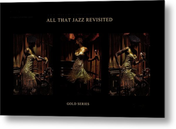All That Jazz Revisited Metal Print by Jerome Holmes