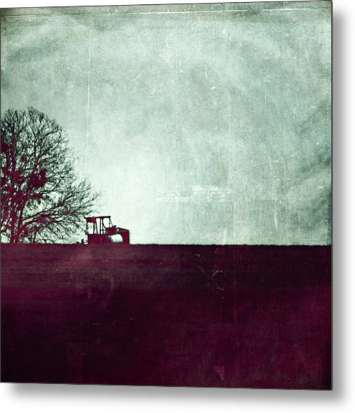 All That's Left Behind Metal Print
