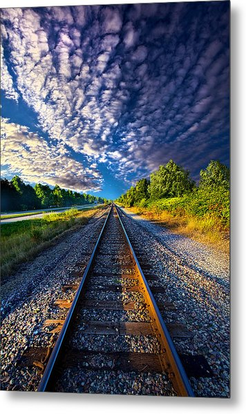 All The Way Home Metal Print