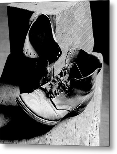 All Worn Out Metal Print by EG Kight