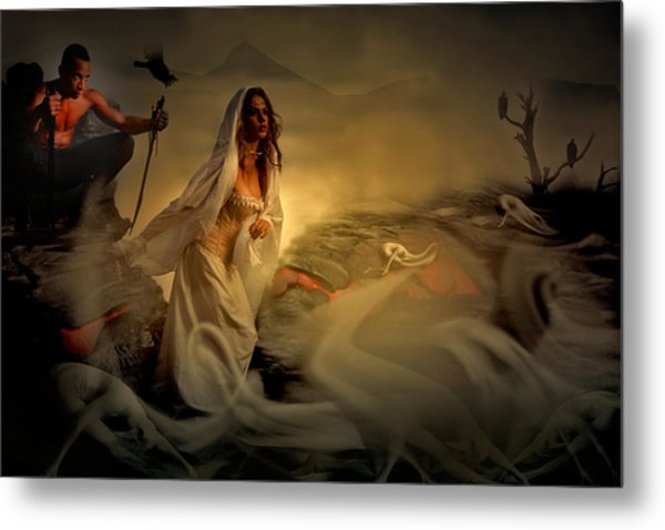 Allegory Fantasy Art Metal Print