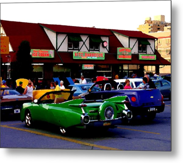 Allentown Pa Meetin' At The Ritz Metal Print