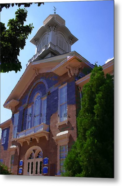 Allentown Pa Old Lehigh County Court House Metal Print