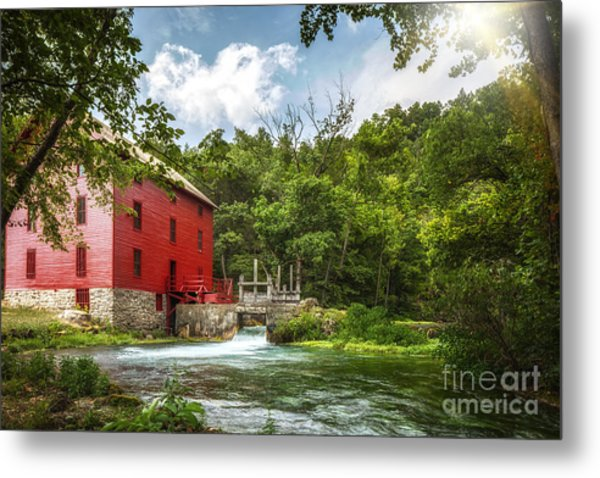 Alley Mill Metal Print