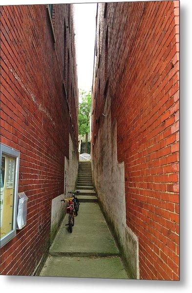 Alley Way Metal Print