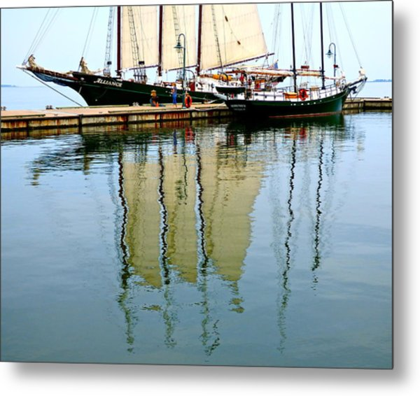 Alliance And Serenity Metal Print
