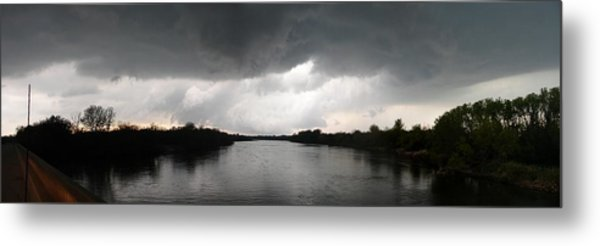 Almost A Waterspout Metal Print