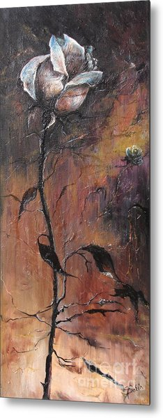 Alone In The Night  Metal Print
