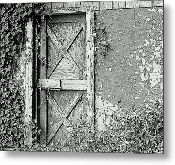 Abandoned And Alone Metal Print
