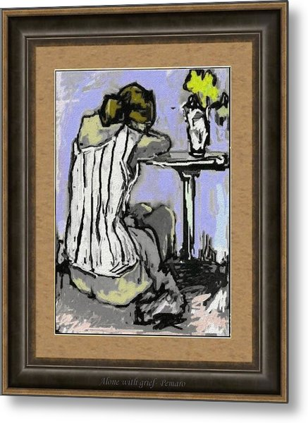 Alone With Grief Awg2 Metal Print