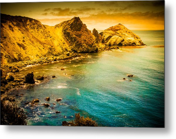 Along The 101 Metal Print
