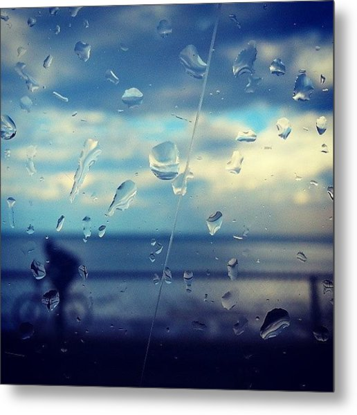 Along The Lakeshore After A Storm Metal Print