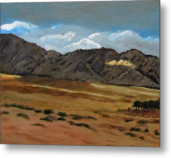 Along The Way To Eilat Metal Print