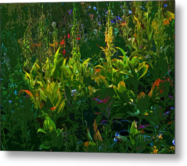 Alpine Flowers Metal Print