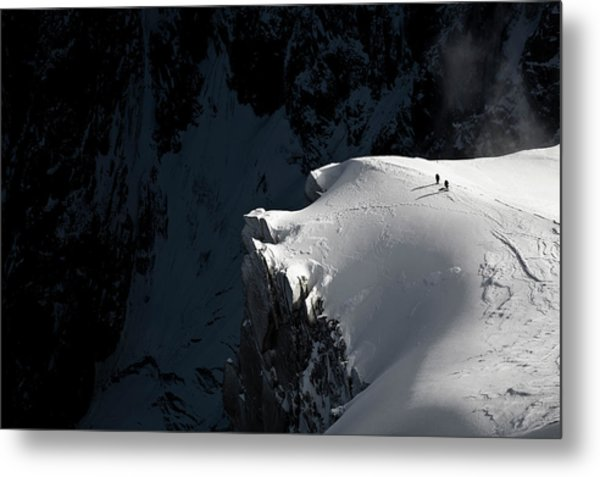 Alpinists Metal Print by Tristan Shu