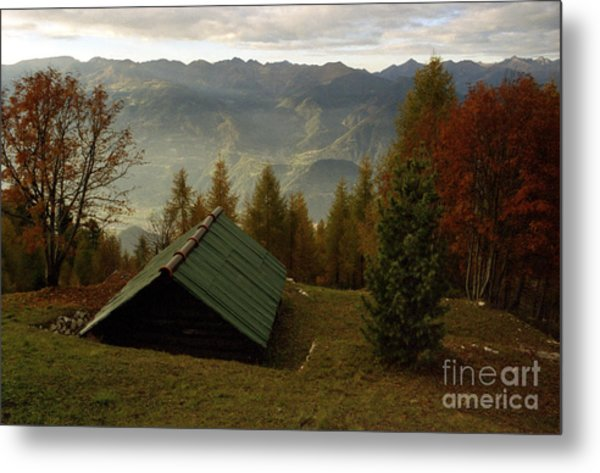 Alps Metal Print by Candido Salghero