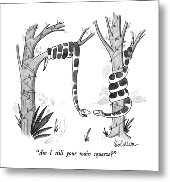 Am I Still Your Main Squeeze? Metal Print