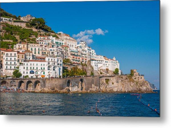 Amalfi Hills Metal Print