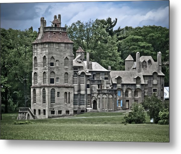 Amazing Fonthill Castle Metal Print