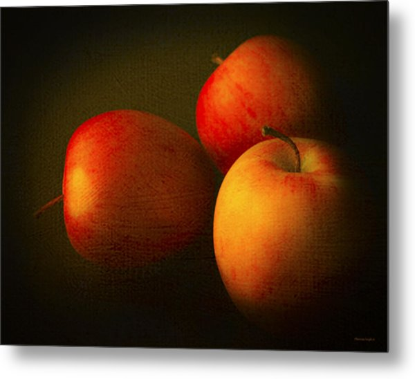 Ambrosia Apples Metal Print