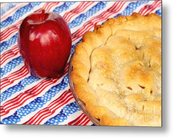 American As Apple Pie Metal Print
