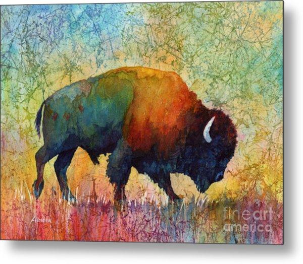 American Buffalo 4 Metal Print
