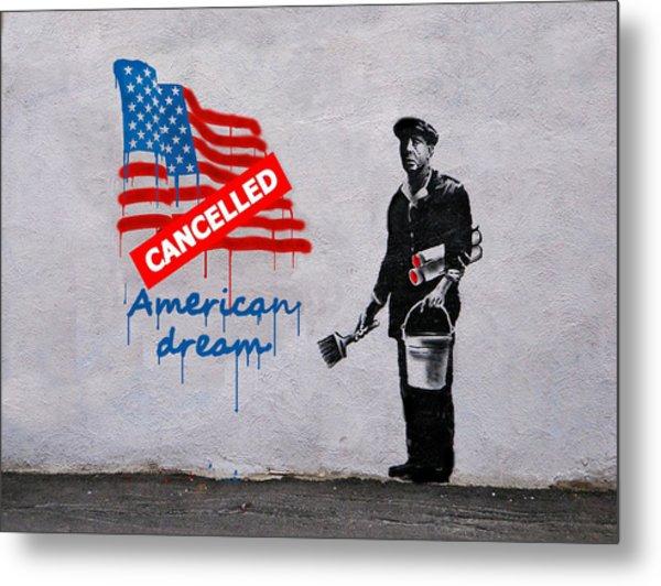 American Dream Metal Print