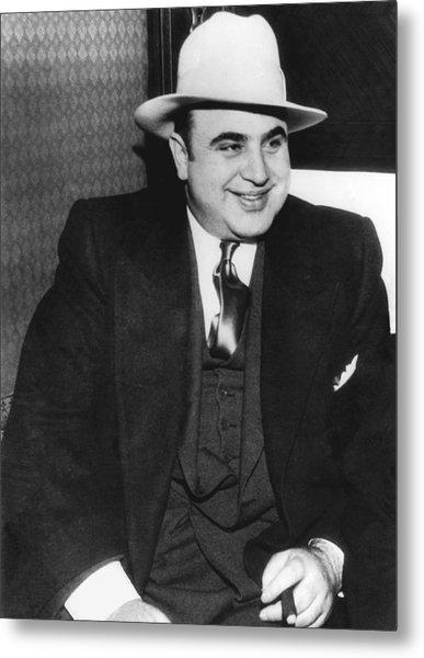American Gangster Al Capone Metal Print
