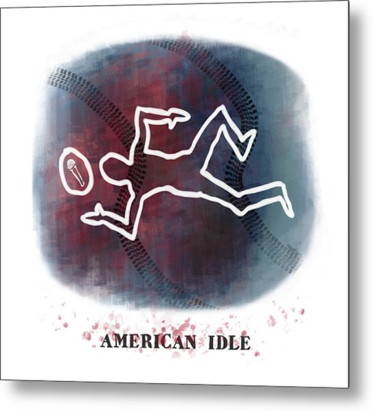 American Idle Metal Print